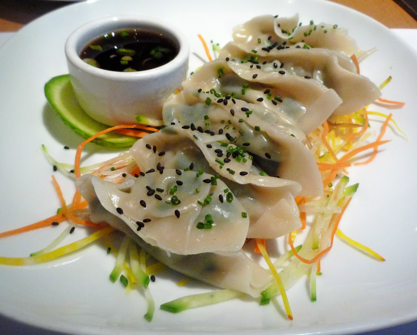 White Shrimp and Chinese Chive Dumplings